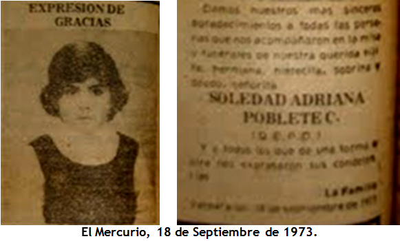 Infancia Dañada por la Dictadura.Chile