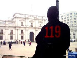 119 de Nosotros. foto Kallejero