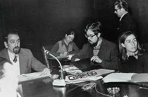 Resultado de imagen para Carlos Lorca con Gladys Marín y Jaime Suárez