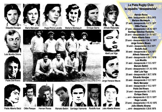 Rugbistas argentinos desaparecidos en dictadura.la Voces de sus hijxs yamigos