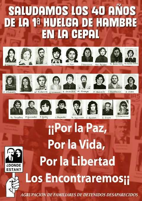 Archivo Huelga de Hambre, CEPAL1977