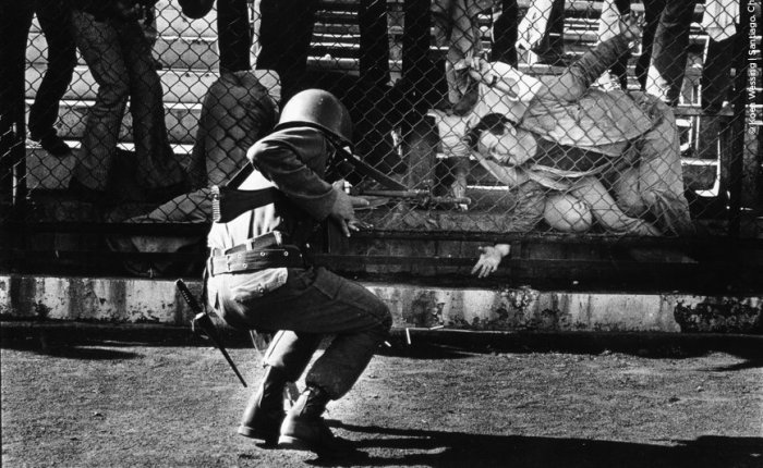 Koen Wessing. testigo Golpe de Estado Chile1973.
