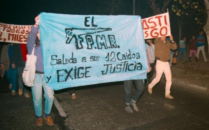 El Chile de 1987. Matanza de Corpus Christi, la venganza dePinochet.